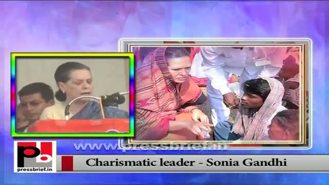Sonia Gandhi -- a true leader who always fought for the welfare of the common people