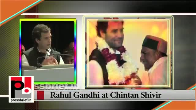 Newly appointed Congress Vice President Rahul Gandhi's first address to the partymen