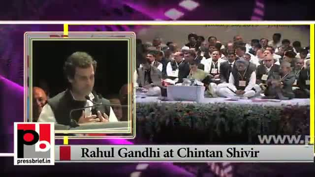 Newly appointed Congress Vice President Rahul Gandhi boosts Congress workers