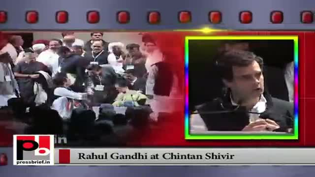 Newly appointed Congress Vice President Rahul Gandhi assures equal treatment to all