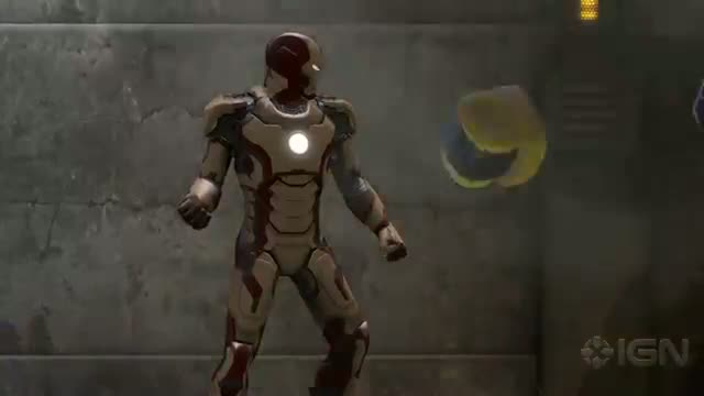 Marvel Heroes: Iron Man 3 Armor Trailer
