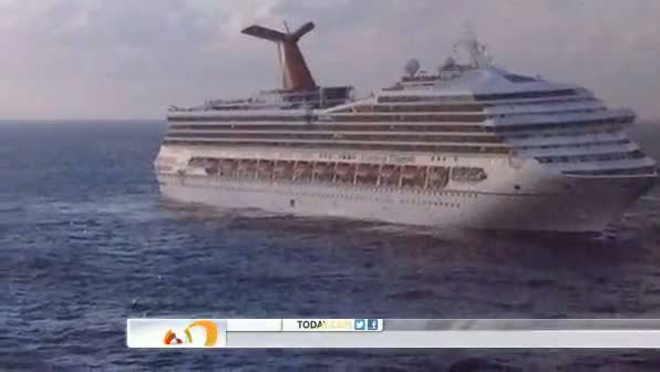 Conditions worse on stranded Carnival cruise ship