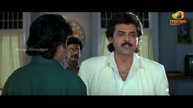 Pavitra Bandham Scenes - Venkatesh bothered by Soundarya - Venkatesh, Soundarya - Telugu Cinema Movies