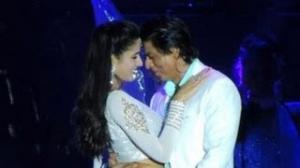 Katrina & Shahrukh Dance performance at Temptation Reloaded Concert 2013