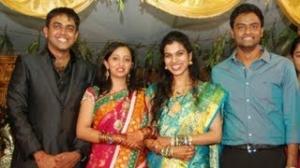 Singer Malavika Marriage Reception Exclusive Stills