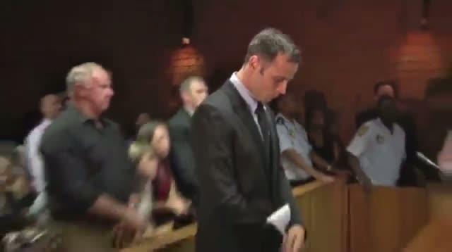 Pistorius Arrives in Court
