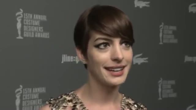 Costume Designers Guild Awards Honor Hathaway