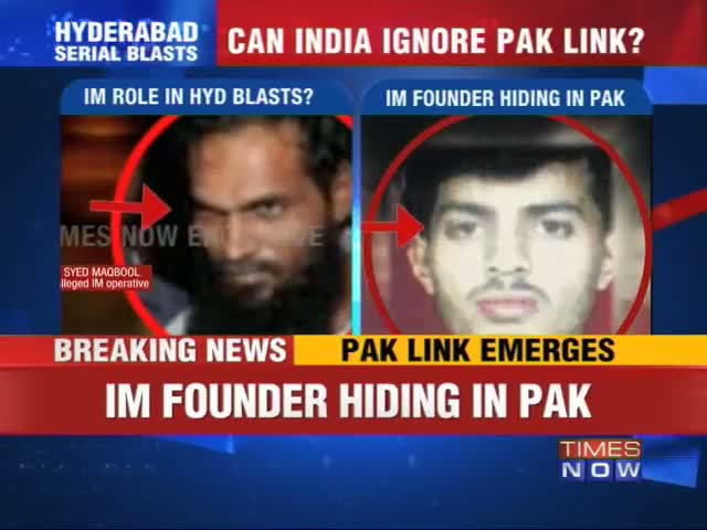 Hyderabad Blasts: Clear Pakistan angle emerges