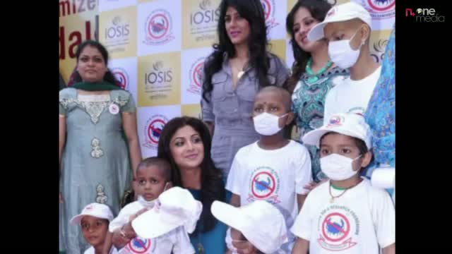 Shilpa Shetty & IOSIS spa support cancer patients