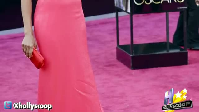 Kerry Washington's Bright Choice For 2013 Oscars Gown