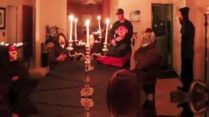 Pizza Man Interupts Masonic Worship