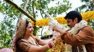 Hindi Tv Actress Shonali Nagrani wedding Bash In Kerala