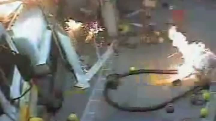 Idiot Uses Lighter to Look In Fuel Tanker