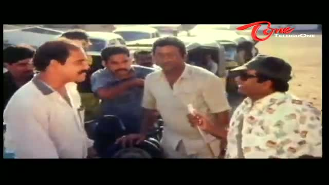Telugu Comedy Scene From Pekata Paparao Movie - Brahmanandam Makes Ali As Petrol Bunk - Telugu Cinema Movies