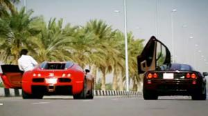 Bugatti Veyron vs. Mclaren F1 in 1 Mile Drag ace!