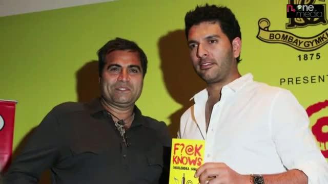 Yuvraj Singh At Shailendra Singh's Book Launch Pics