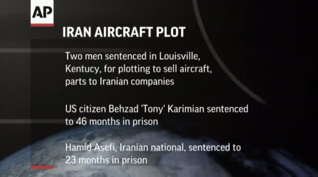 Two Sentenced for Plot to Violate Iran Sanctions