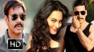 Sonakshi Sinha Juggles Between Ajay - Akshay