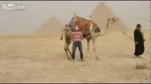 Harlem Shake in front of the Pyramids - Egypt [Four Students Arrested For Doing Harlem Shake]
