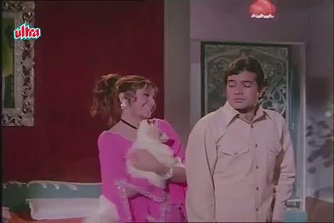 Helen warns Rajesh Khanna on Meeting Tanuja - Mere Jeevan Saathi Scene (1972)