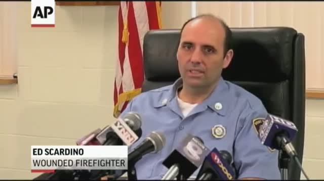 Firefighters Shot During Fire Describe Ordeal