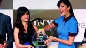 Katrina Kaif launches Sony Xperia Z phone and tablet for India