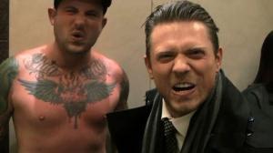 Opie's Elevator Show - WWE's The Miz And Troy's Bad Sunburn