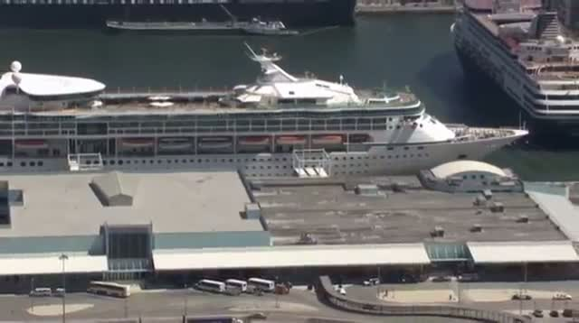 Cruise Ship With 100-plus Ill Back in Fla.
