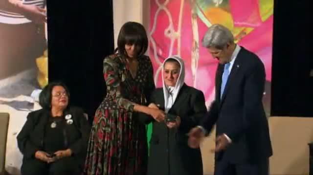 Women Awarded for Courage Despite Threats