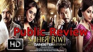 Saheb Biwi Aur Gangster Returns: Public Review