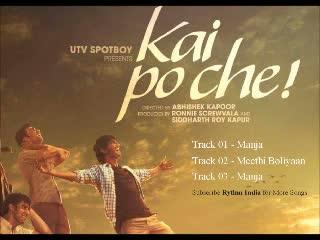 ShubhAarambh Song Kai Po Che Movie 2013 with Lyrics