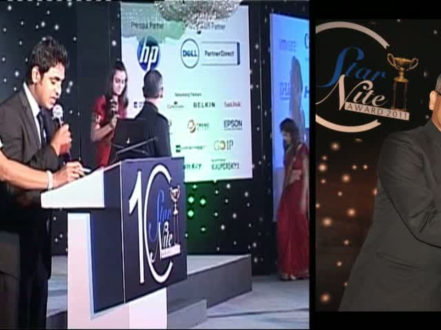 HP receive the awards at 10th Star Nite Award - 2011