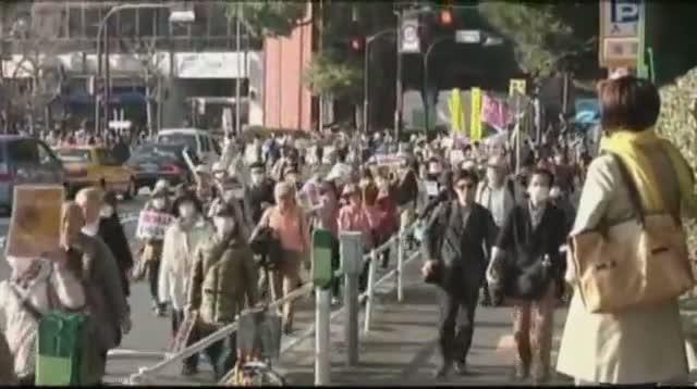 Fukushima Remembered at Japan Protest