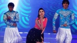 Prachi Desai Performing At Indian Princess 2013