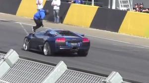 Man Jumps Over Lamborghini Murcielago