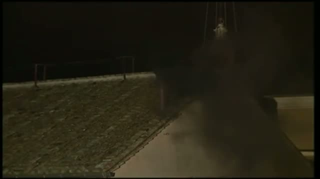Black Smoke Pours From Chapel Chimney