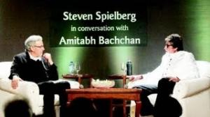 Steven Spielberg In Conversation With Amitabh Bachchan