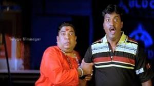 Aaduthu Paaduthu Movie Comedy Scenes - Sunil getting scared of a ghost - Shadow Srikanth - Shadow Srikanth - Telugu Cinema Movies