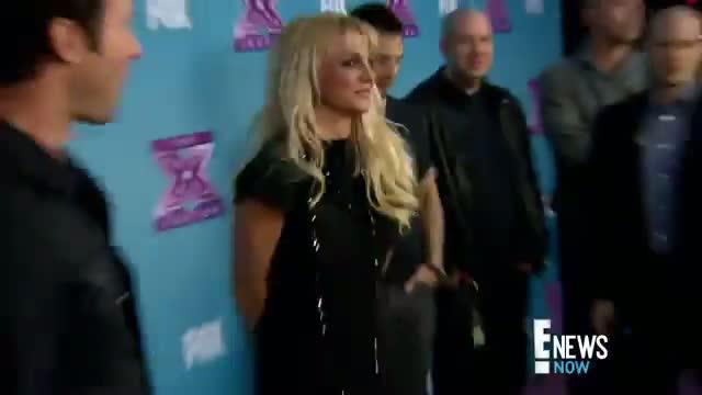 Britney Spears Sports Lighter Locks video