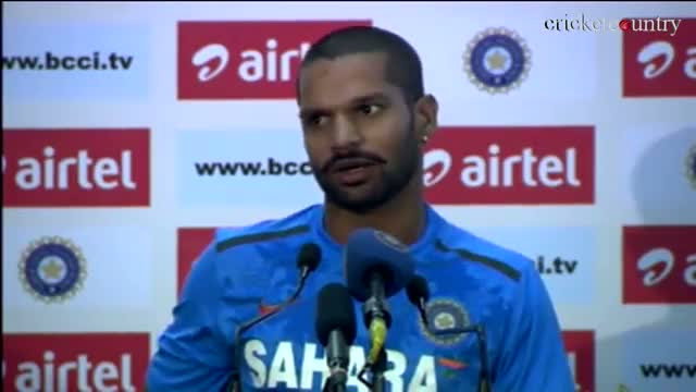 Shikhar Dhawan happy with his shot selection on debut against Australia