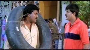 Aaduthu Paaduthu Movie Comedy Scenes - Srikanth warned by a bank employee - Shadow Srikanth - Telugu Cinema Movies
