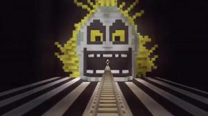 Amazing Beetlejuice Roller Coaster In Minecraft