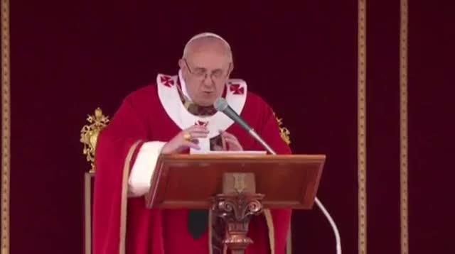 Pope Francis Celebrates Palm Sunday