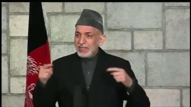 Kerry, Karzai Bury Hatchet in Kabul Meeting