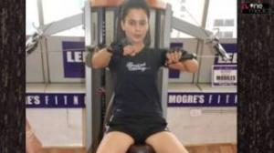 Kangana Ranaut - Workout In Gym Hot Video