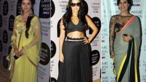 Celeb Spotting At LFW Summer Resort 2013