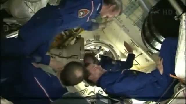 New Crew Reaches Space Station