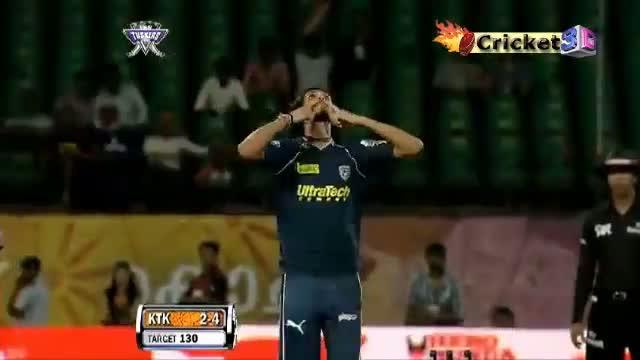 * 6 Duck OUT's in a T20 Inning * KTK Vs DC T20 Match - IPL 2011