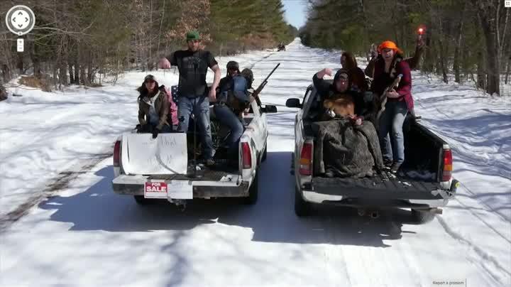 Country Band Ambushes Google Street View Car