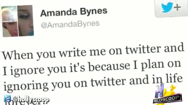 Amanda Bynes Lashes Out At Her Twitter Followers